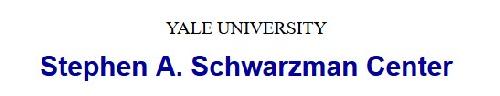 YALE SCHWARZMAN CENTER: Managing Director, New Haven, CT